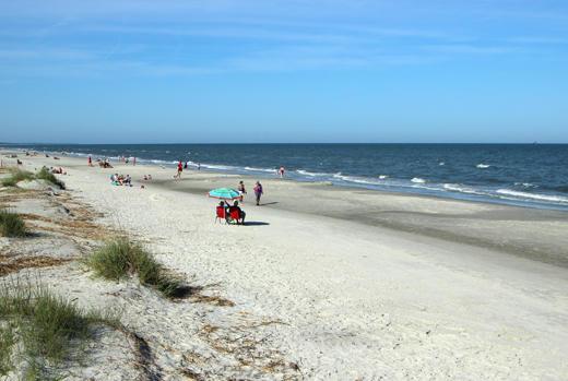 Beach at Captains Walk