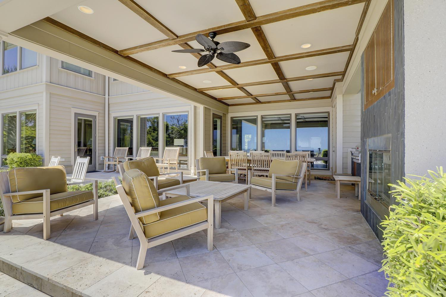 Covered Patio and Grill Area | Endless Summer