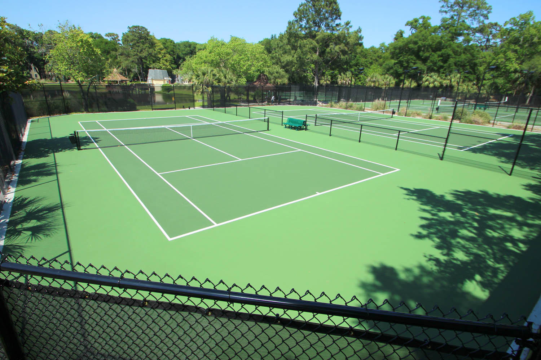 Evian tennis courts