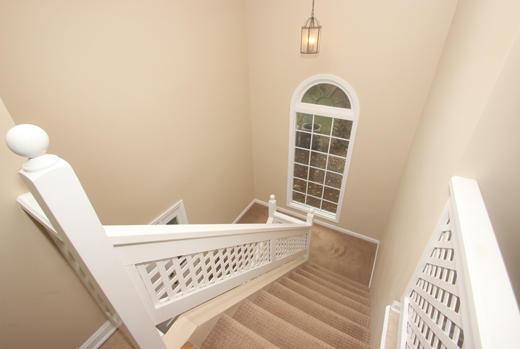 Stairway from front door