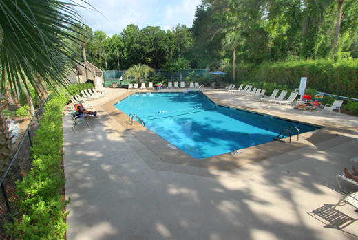 Pool at Forest Beach Villa