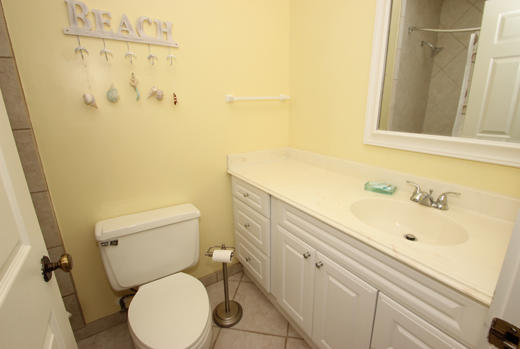 Guest bath for king BR