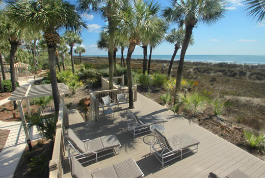Hampton sun deck