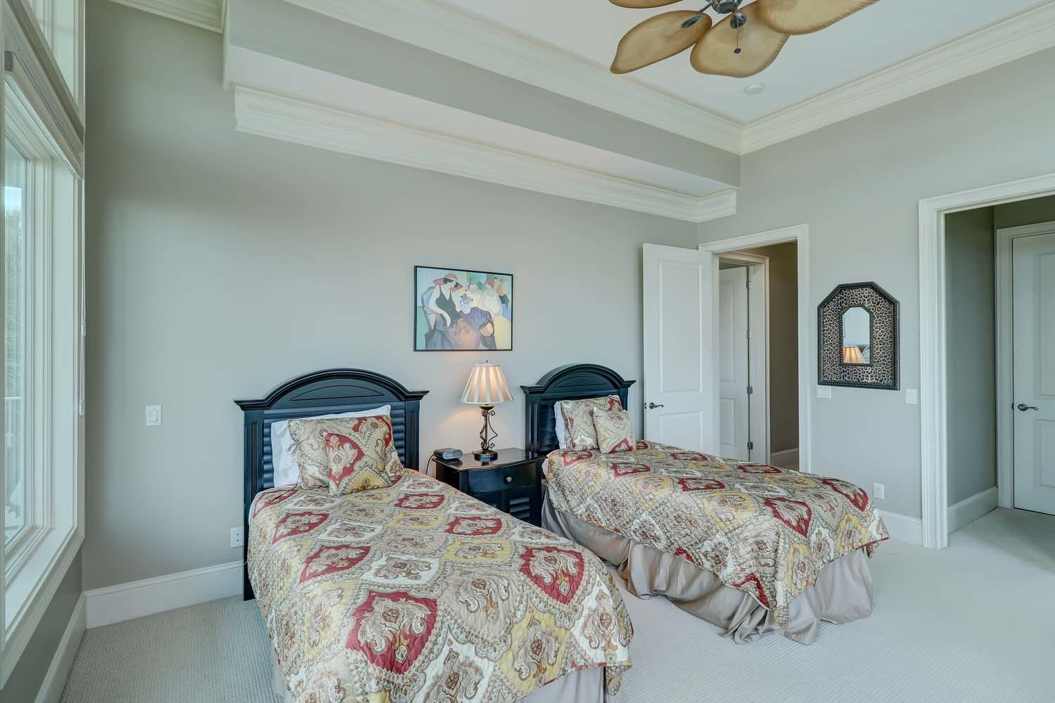 Twin Bedroom- Level One | Hot Tin Roof