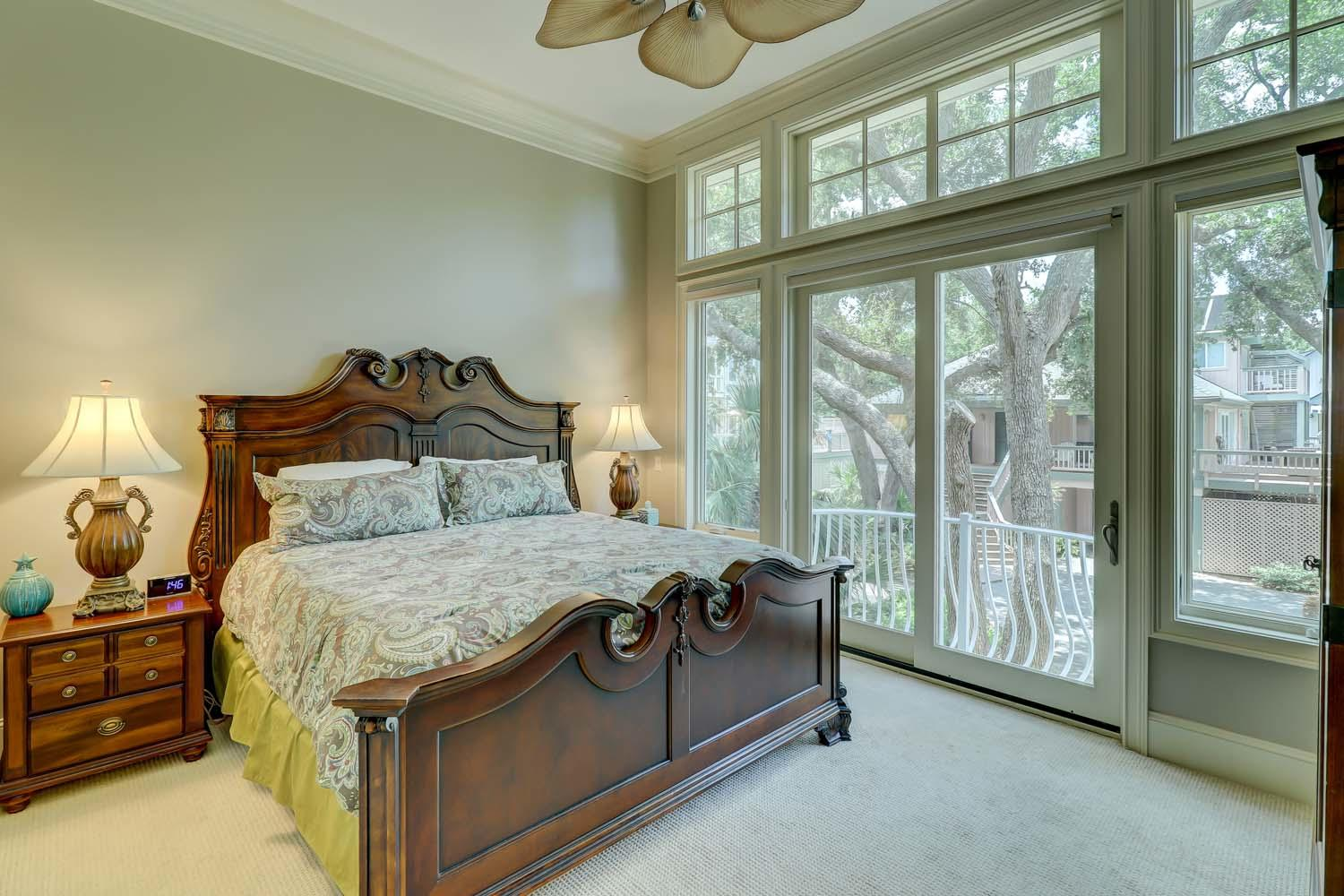 Master Bedroom- Level One | Hot Tin Roof