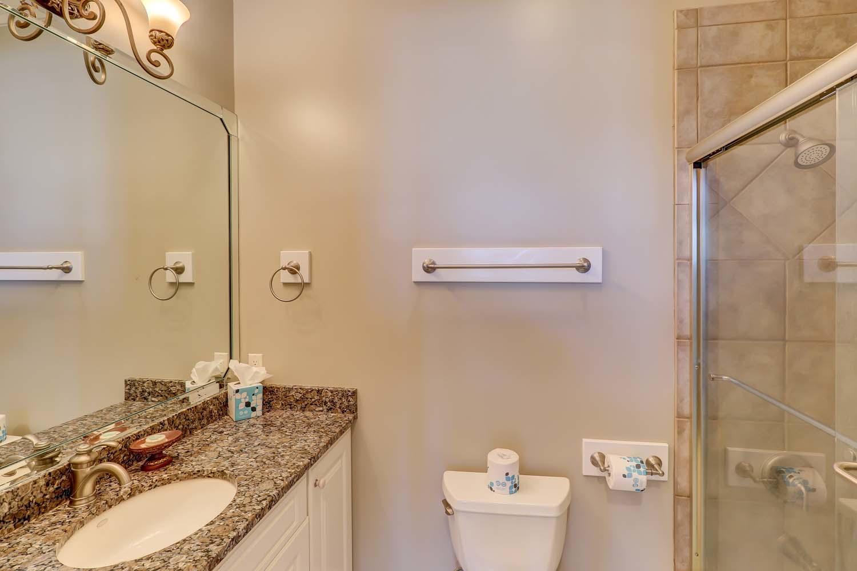 King Bathroom- Second Floor | Hot Tin Roof