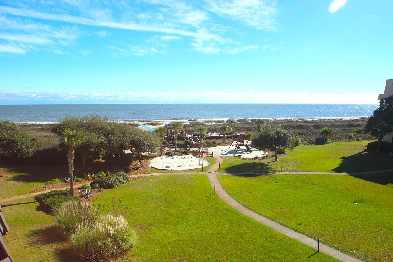 Ocean view from villa