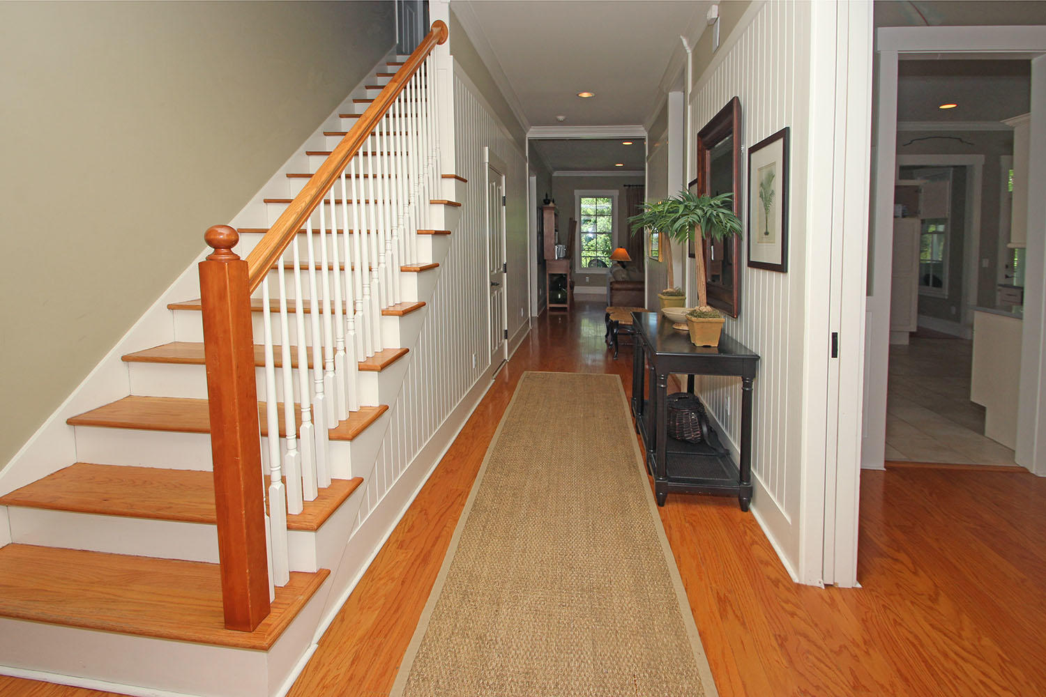 Foyer and stairway