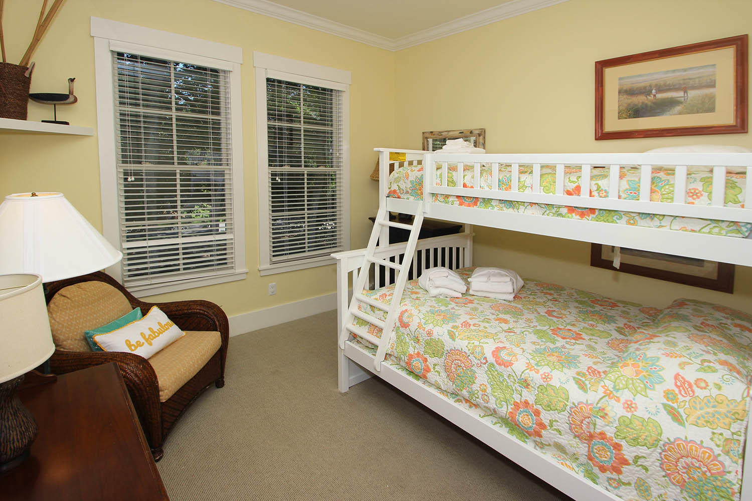 Guest BR with bunk bed - main level
