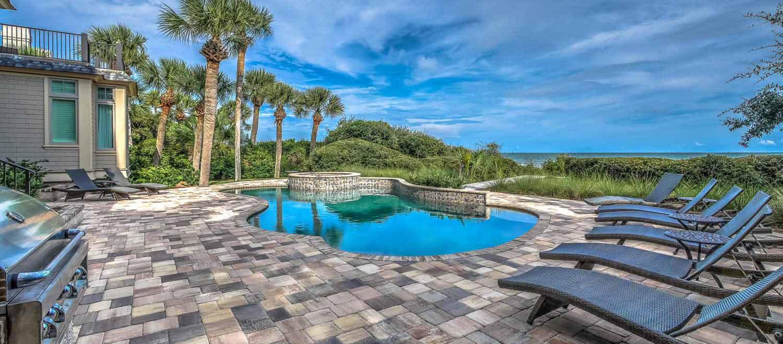 Ocean view from pool deck | Ocean Jewel