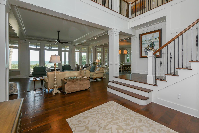 Foyer to great room - main level | Ocean Jewel