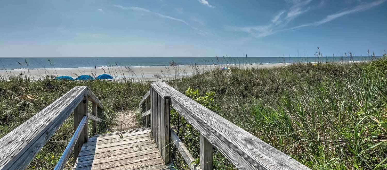 Walkway to beach | Ocean Pointe