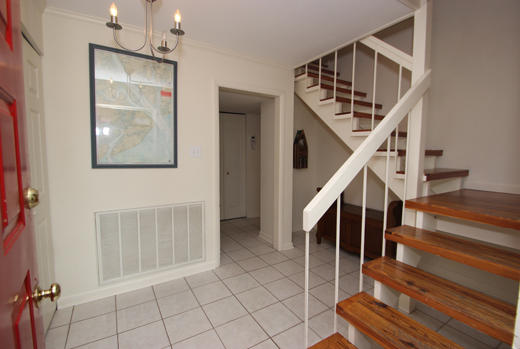 Entrance and stairs to 2nd floor