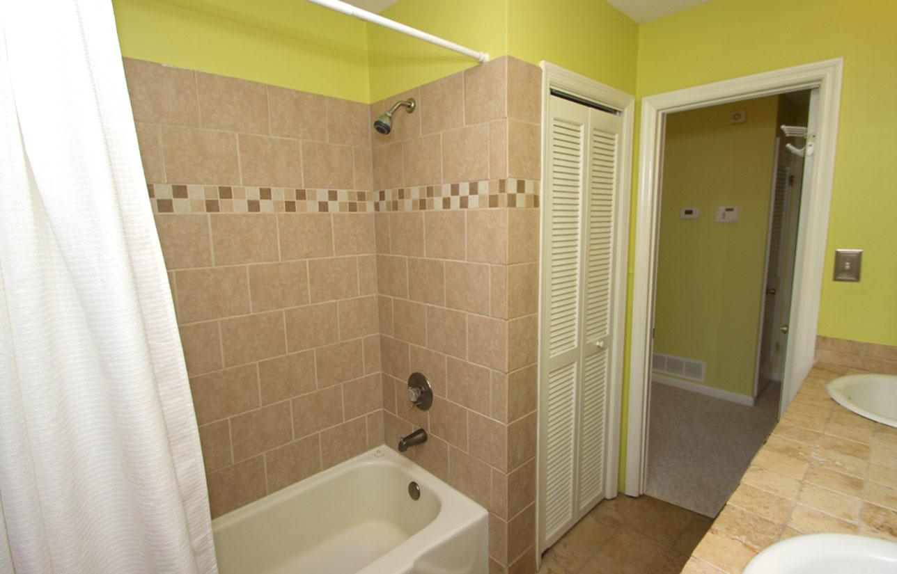 Master bath shower upstairs