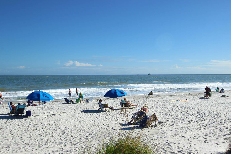 Beach at Folly Field