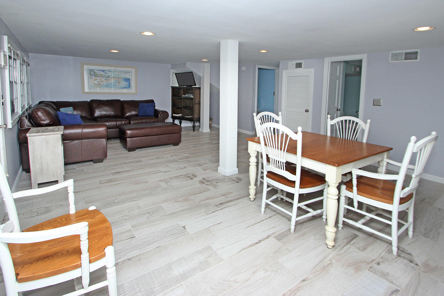 Dining area to living area - ground level