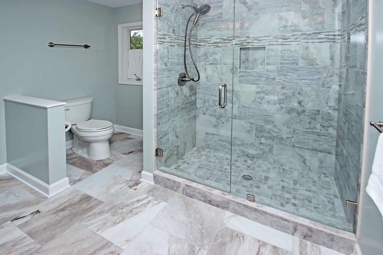 Master shower - 2nd level