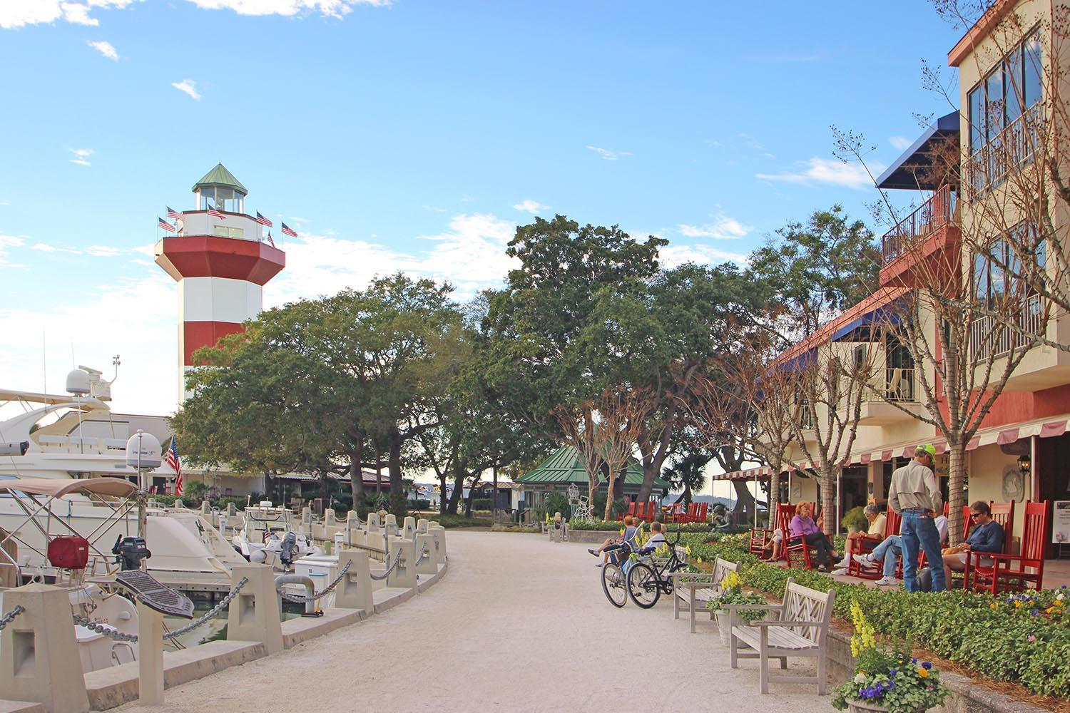 Harbour Town Lighthouse and shops