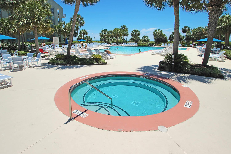 Spat at Pool Area