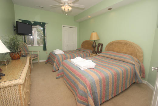 Guest bedroom three with double beds