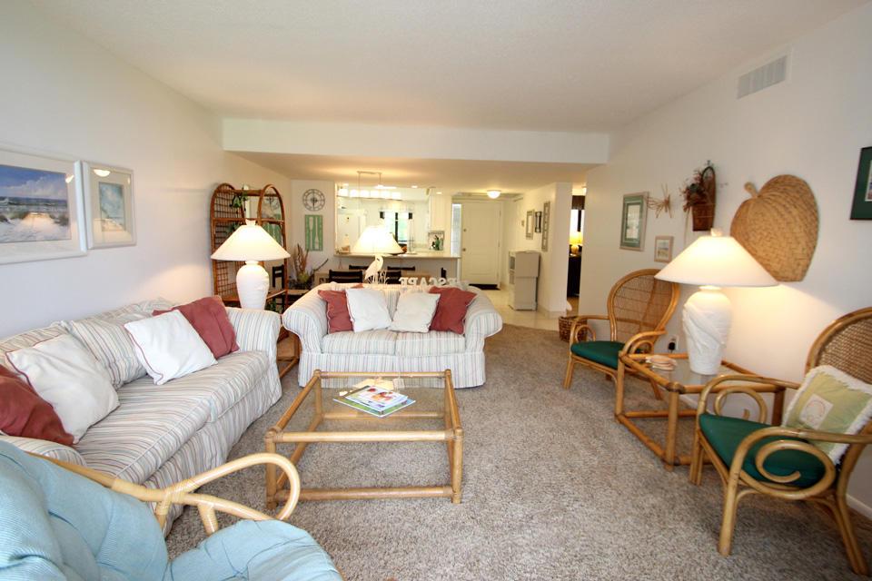 Living area from balcony door