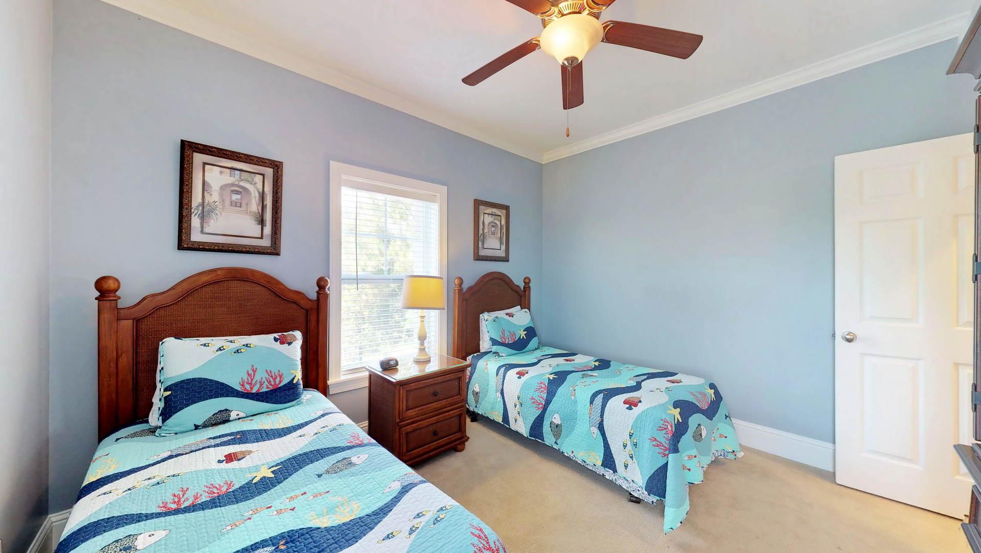 Level 2 Twin Bedroom