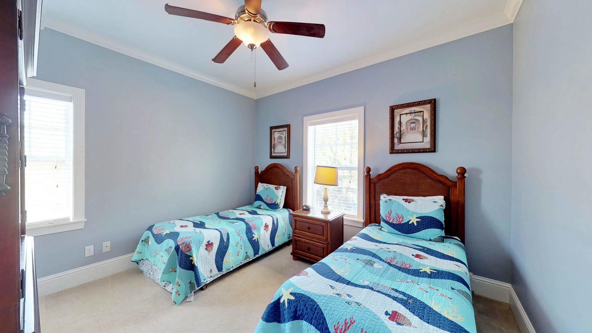 Level 1 Twin Bedroom