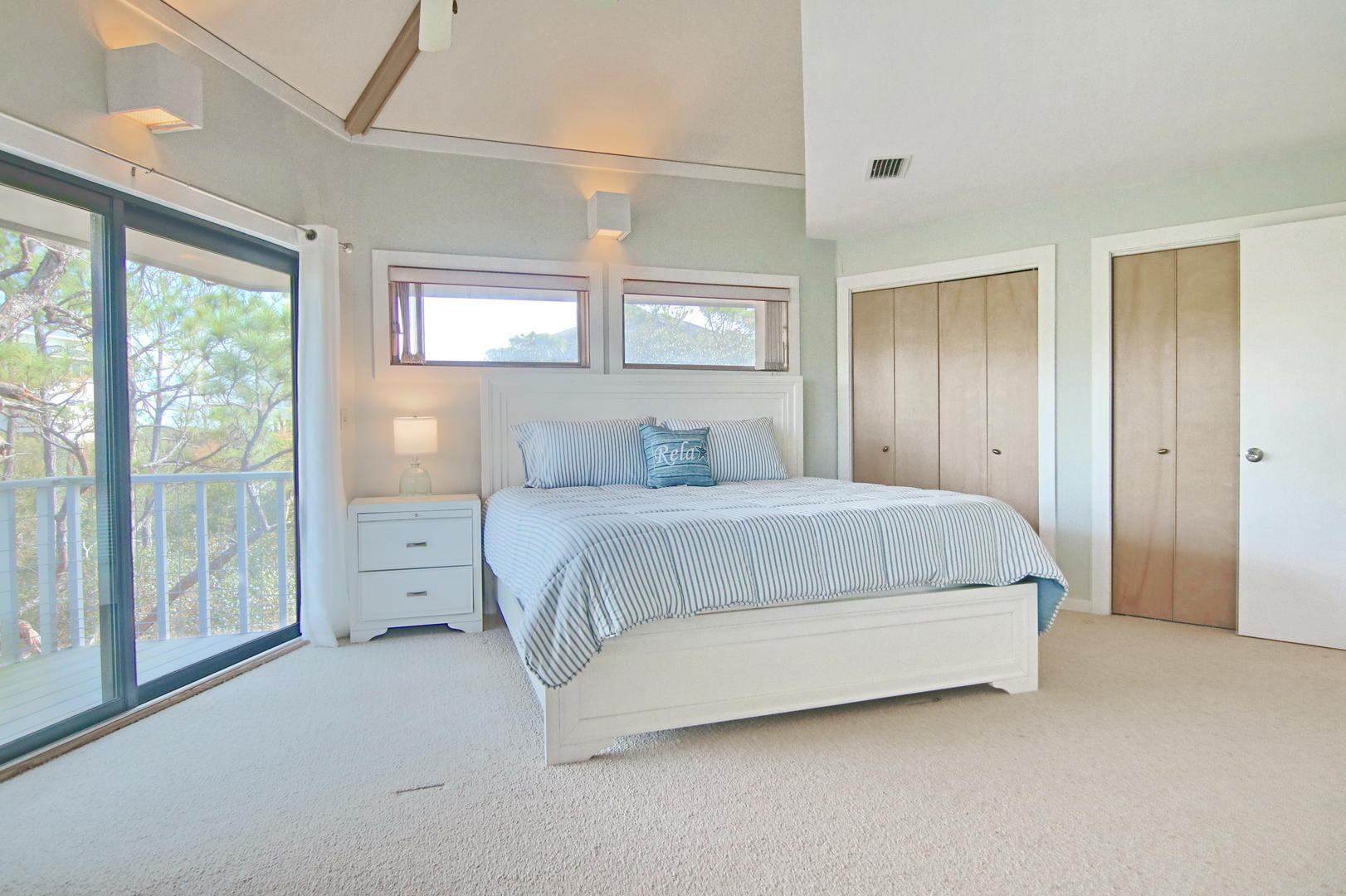 Catch some z's in this spacious king bedroom