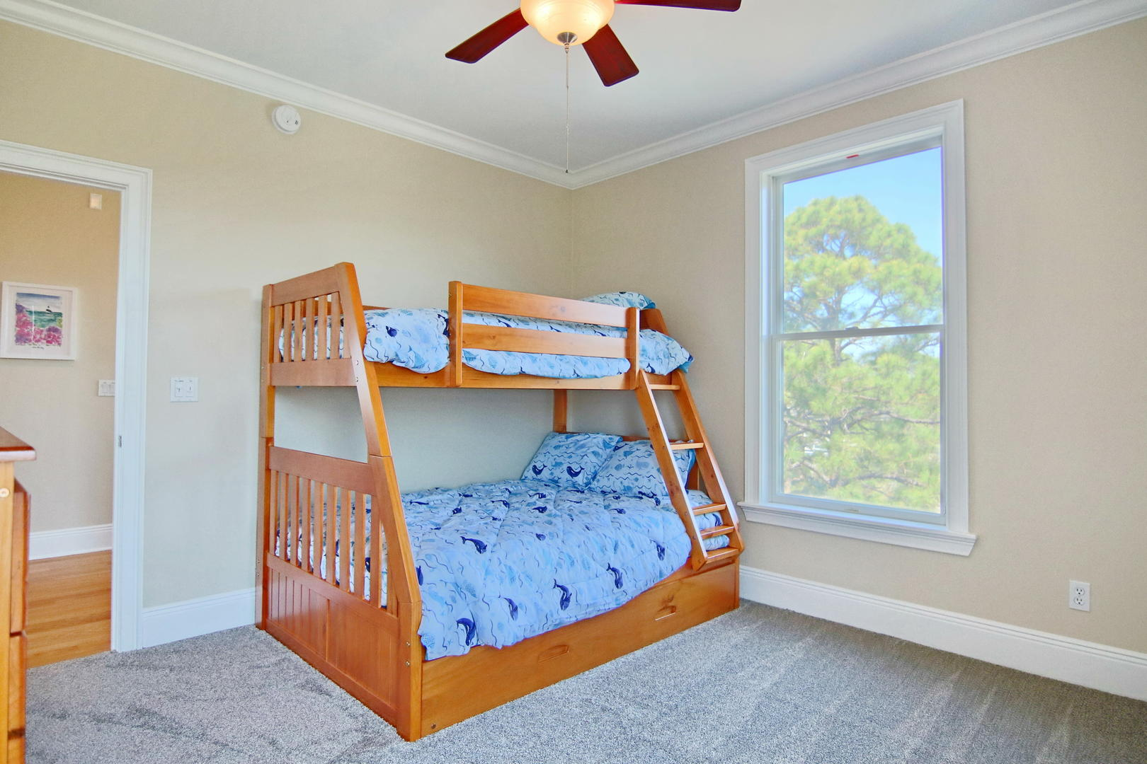 The kids will not be able to contain their excitment when they find out they have their very own room!
