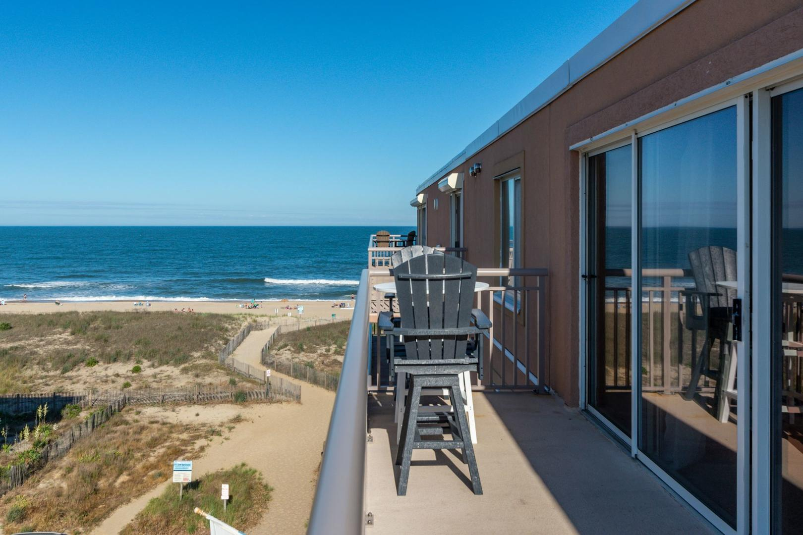 Surfcaster 401 - Balcony with Ocean View