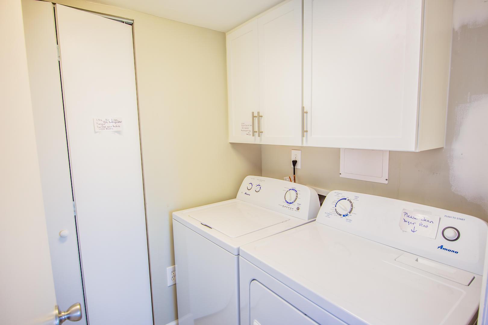 Sea Mark Tower 406 - Laundry Room