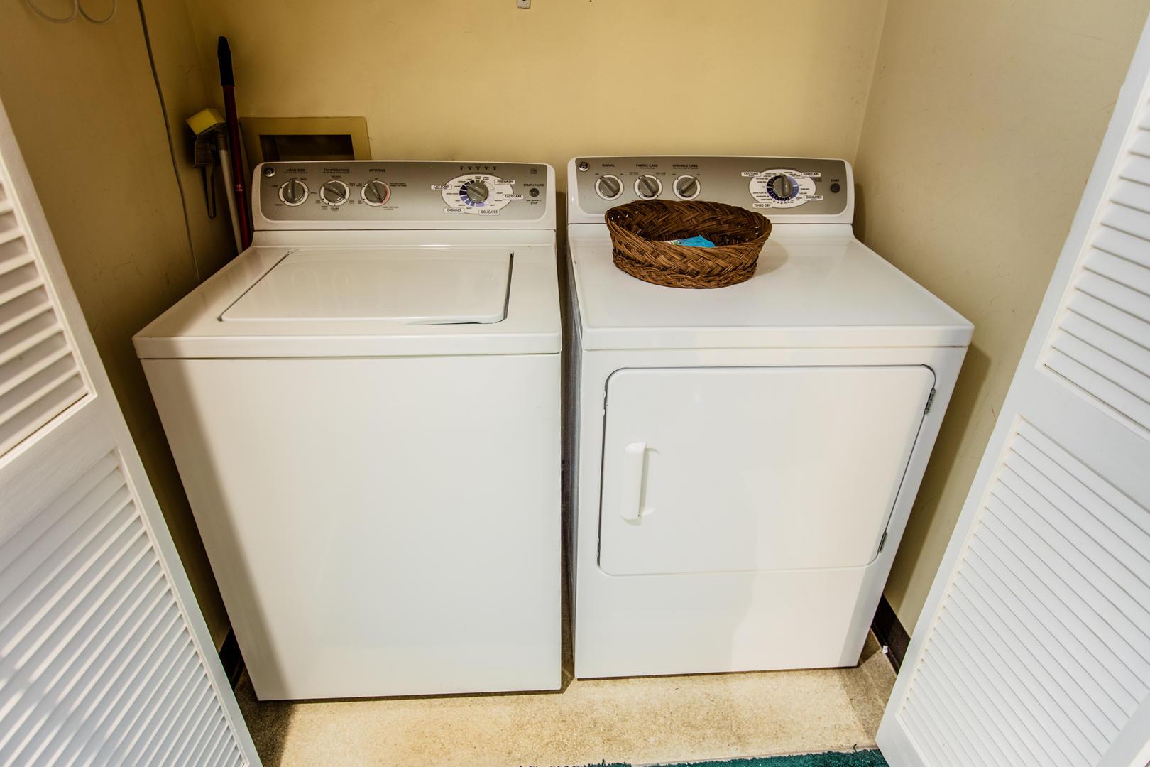 Ocean Creek HH6 - Laundry Room