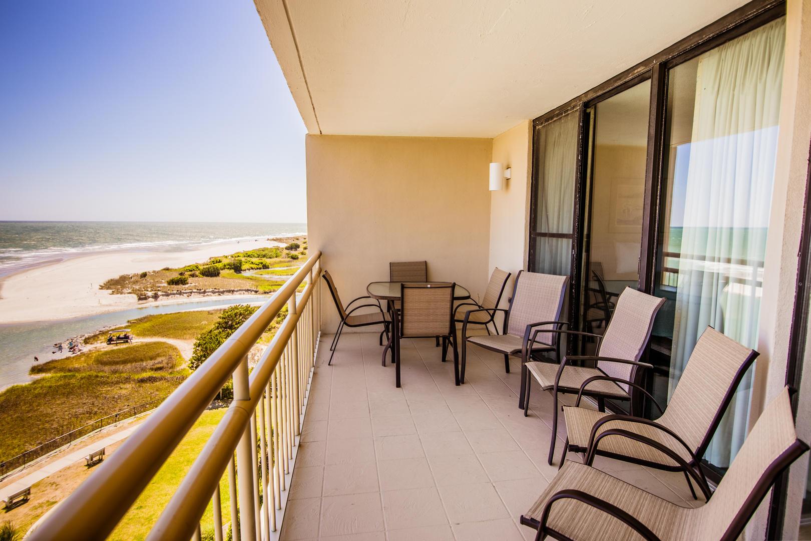 Ocean Creek HH6 - Balcony