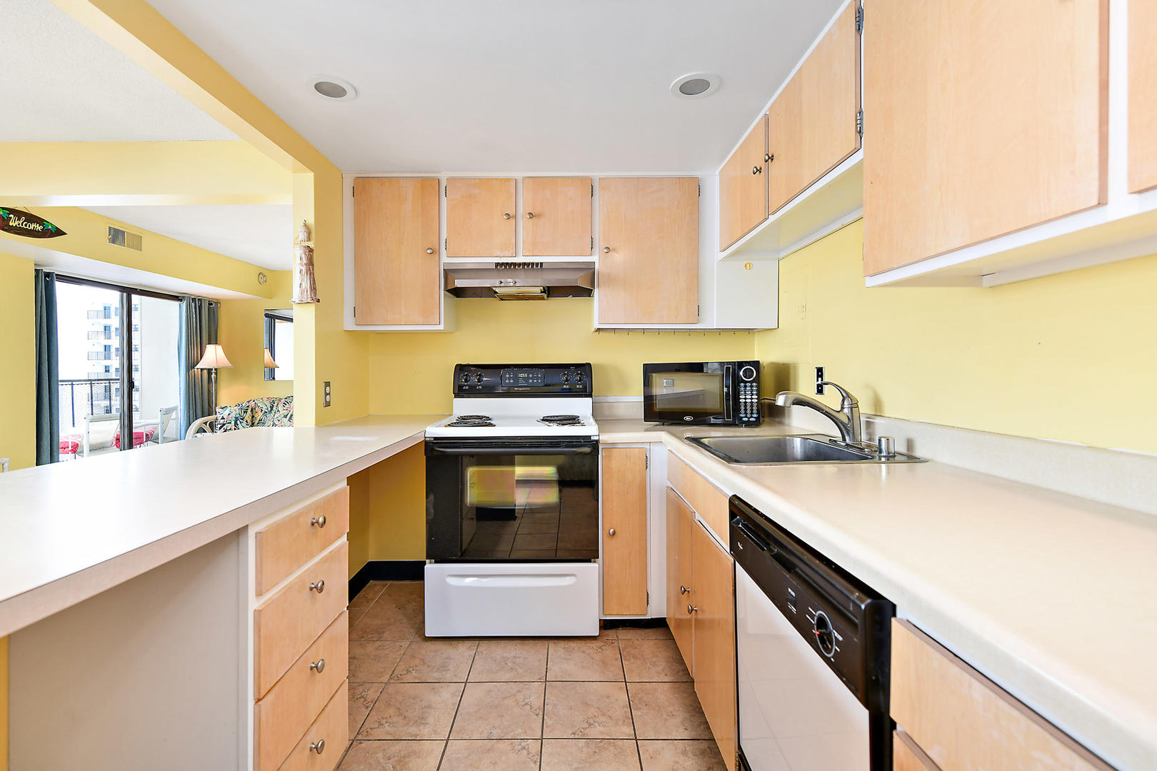 9400 Building Unit 701 - Kitchen