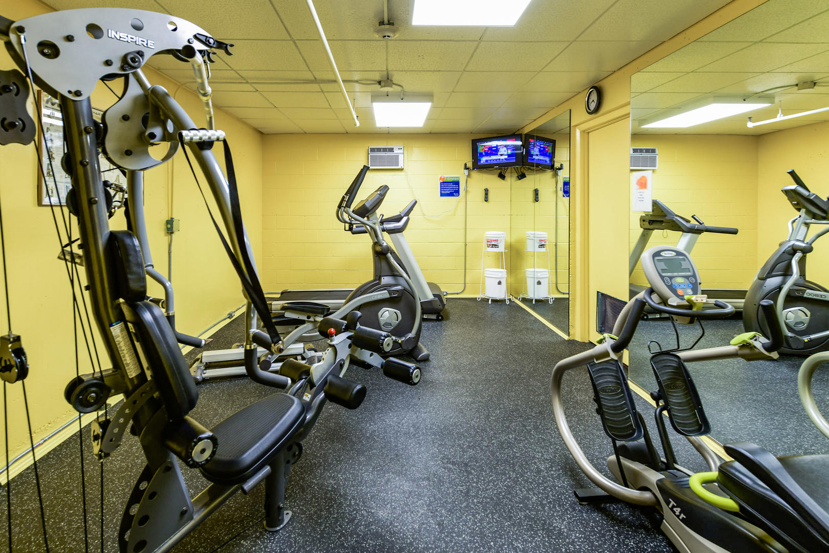 9400 Building Outdoor Fitness Center