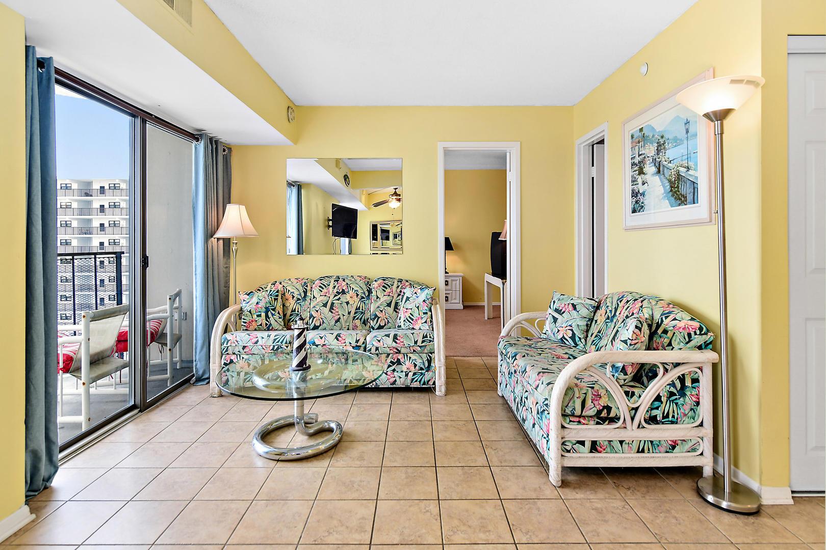 9400 Building Unit 701 - Living Room
