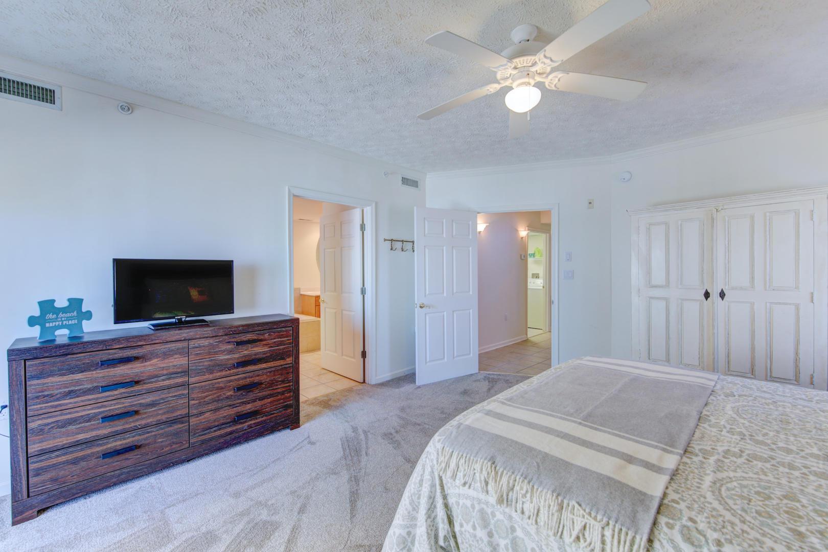 Sea Palms 403 - Master Bedroom
