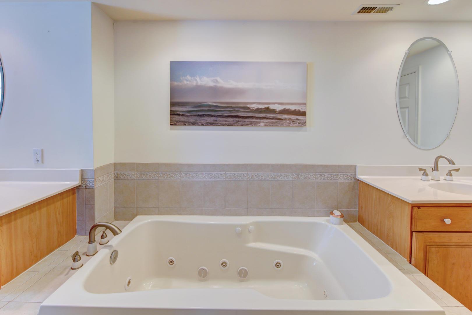 Sea Palms 403 - Master Bathroom