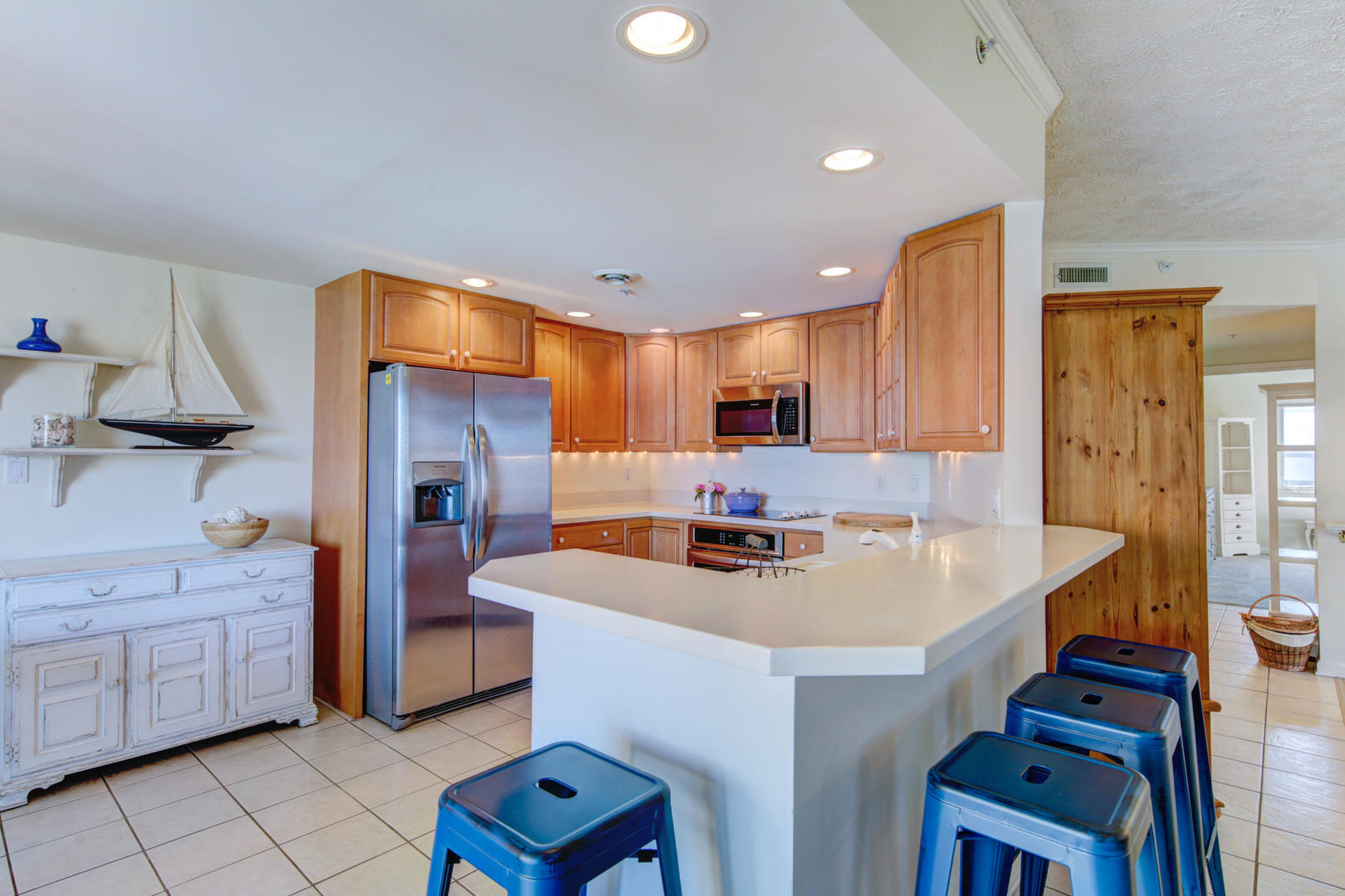 Sea Palms 403 - Kitchen