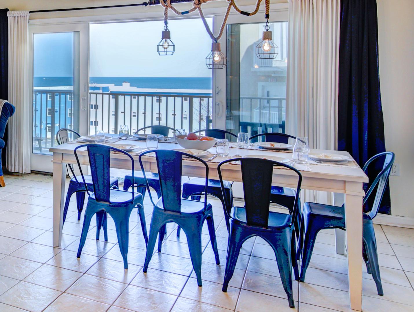 Sea Palms 403 - Dining Area