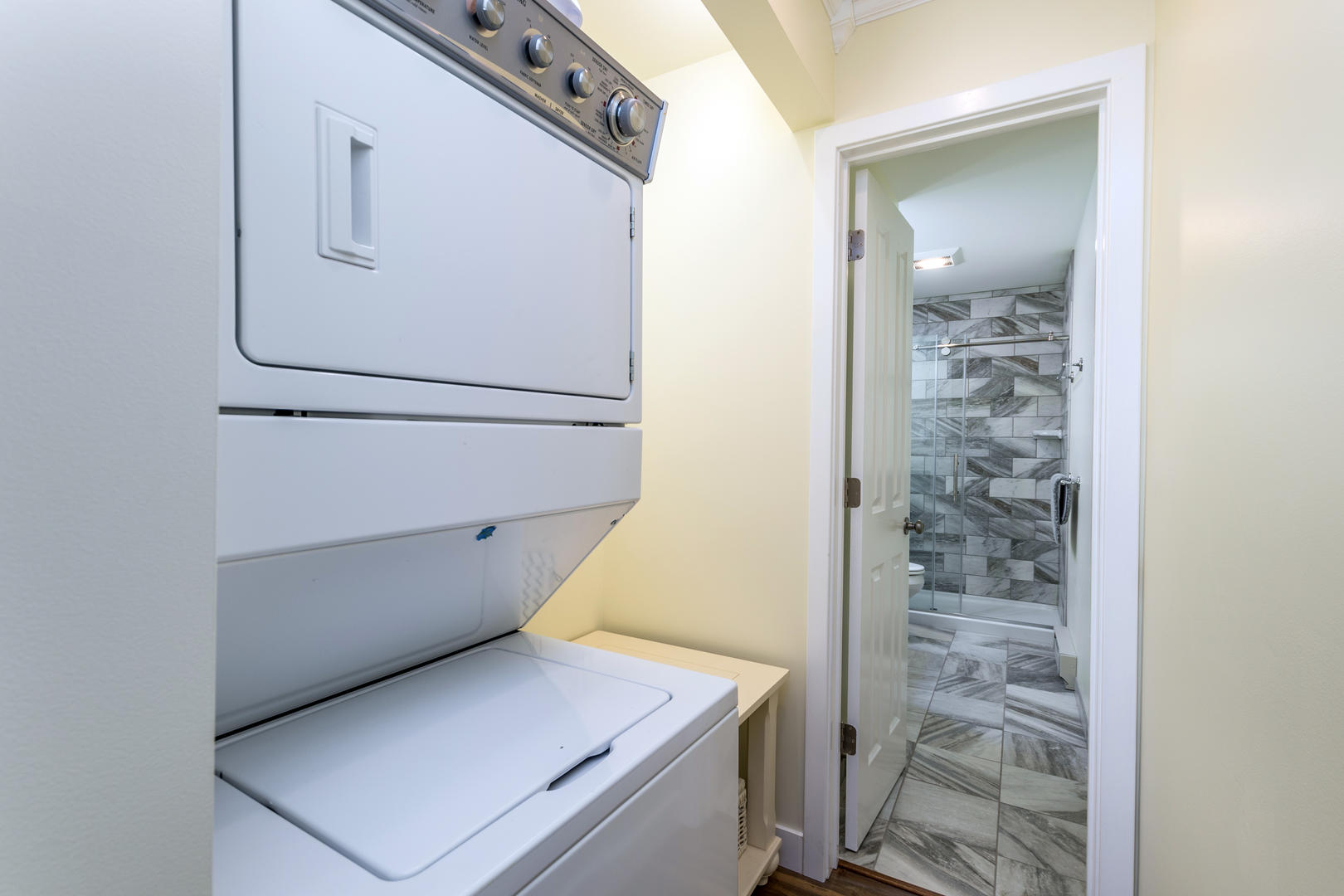 Six West Condominium, Unit 6 - Washer and Dryer