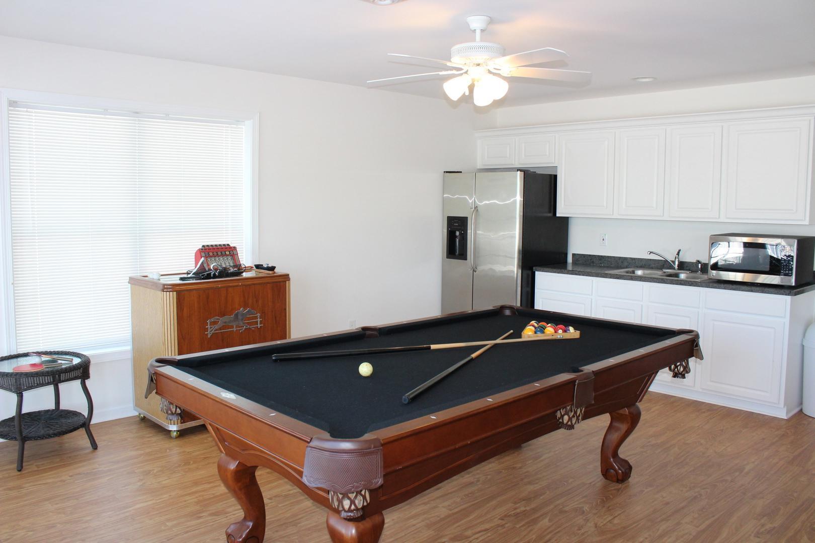 Swann Keys - Pool Table