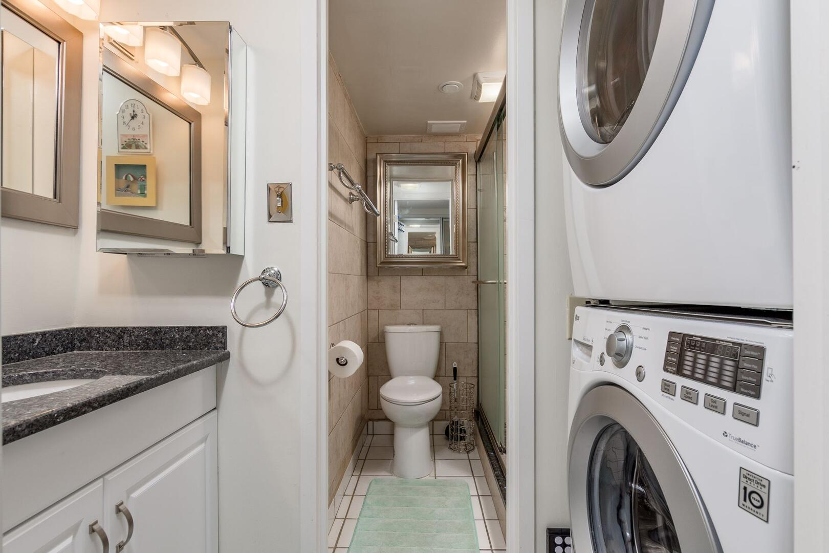 Downstairs Bathroom (with Laundry) - Century I 1612