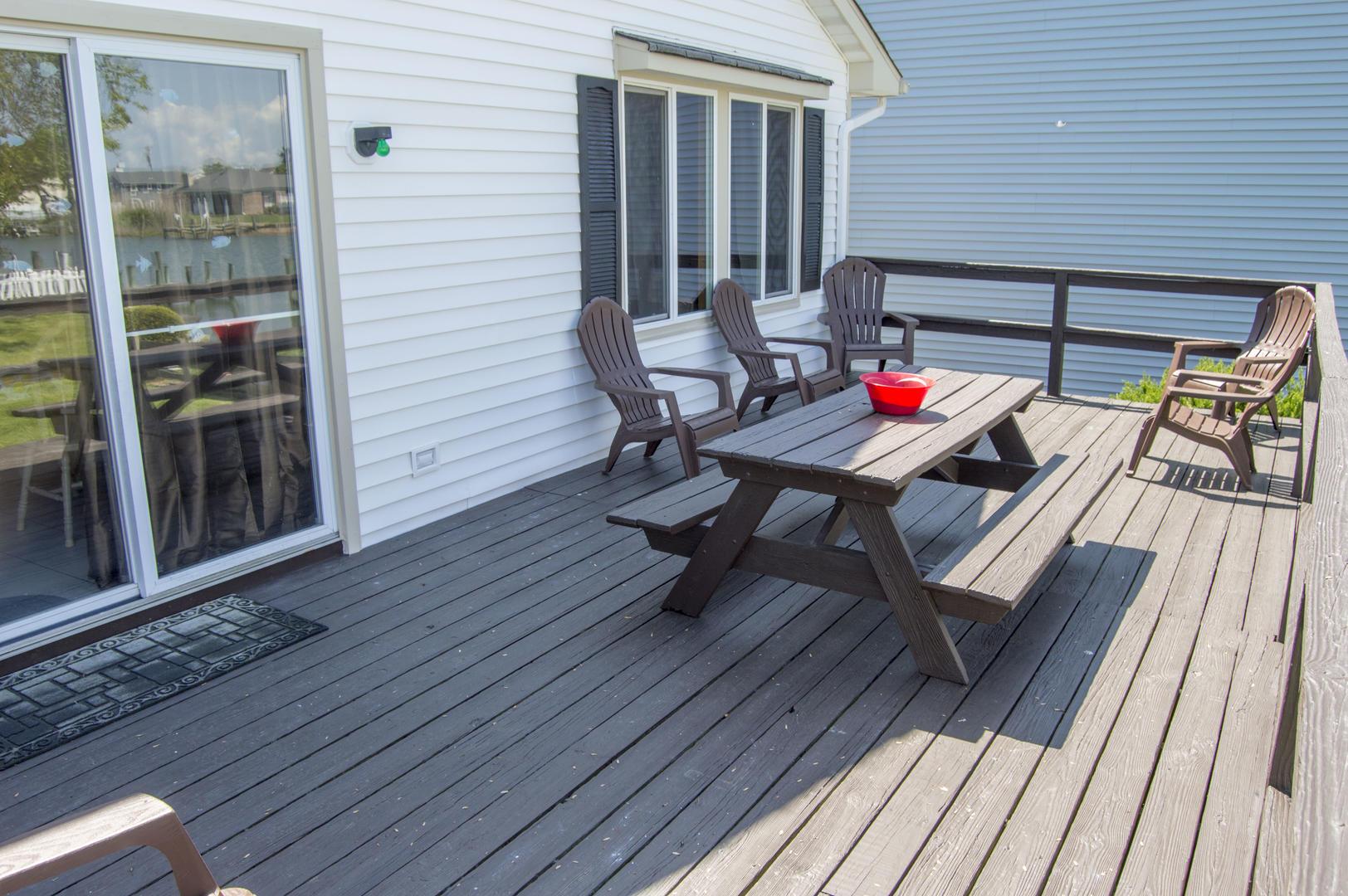 Karoline's Place - Back Deck