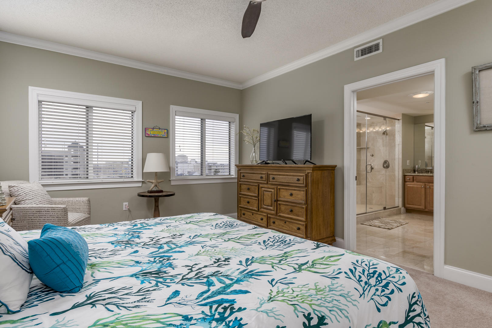 Ocean Bliss, 404 - Master Bedroom