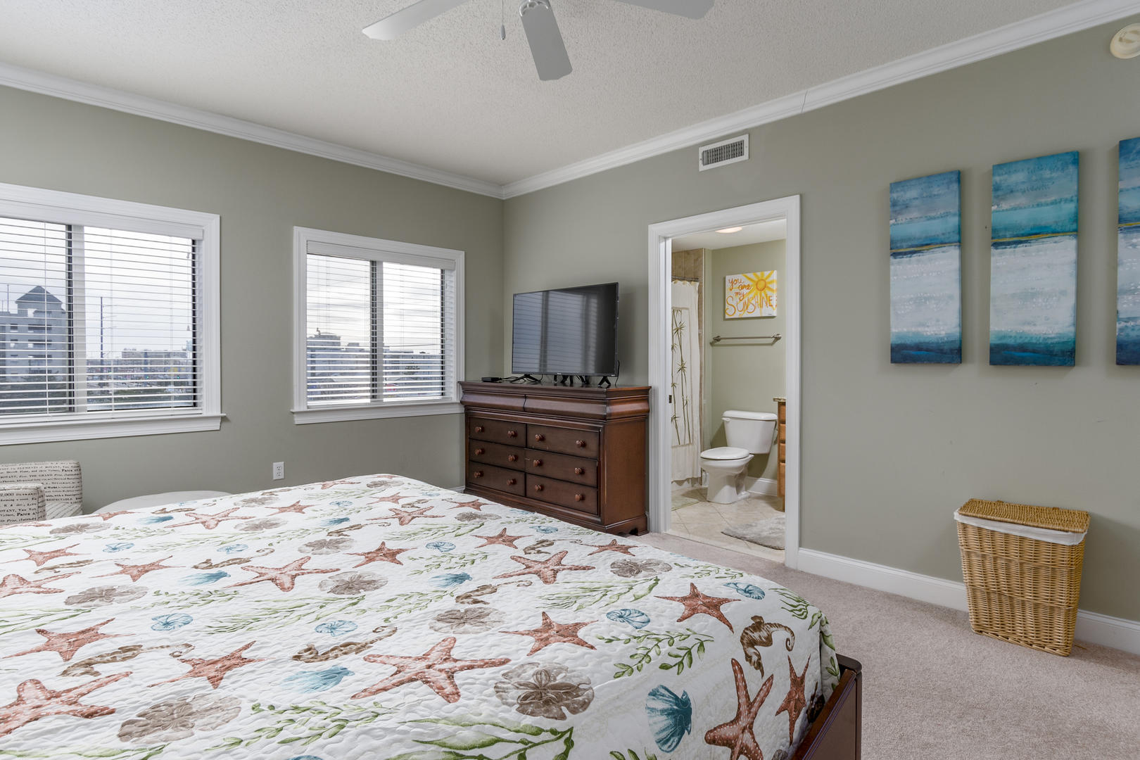 Ocean Bliss, 404 - Second Bedroom