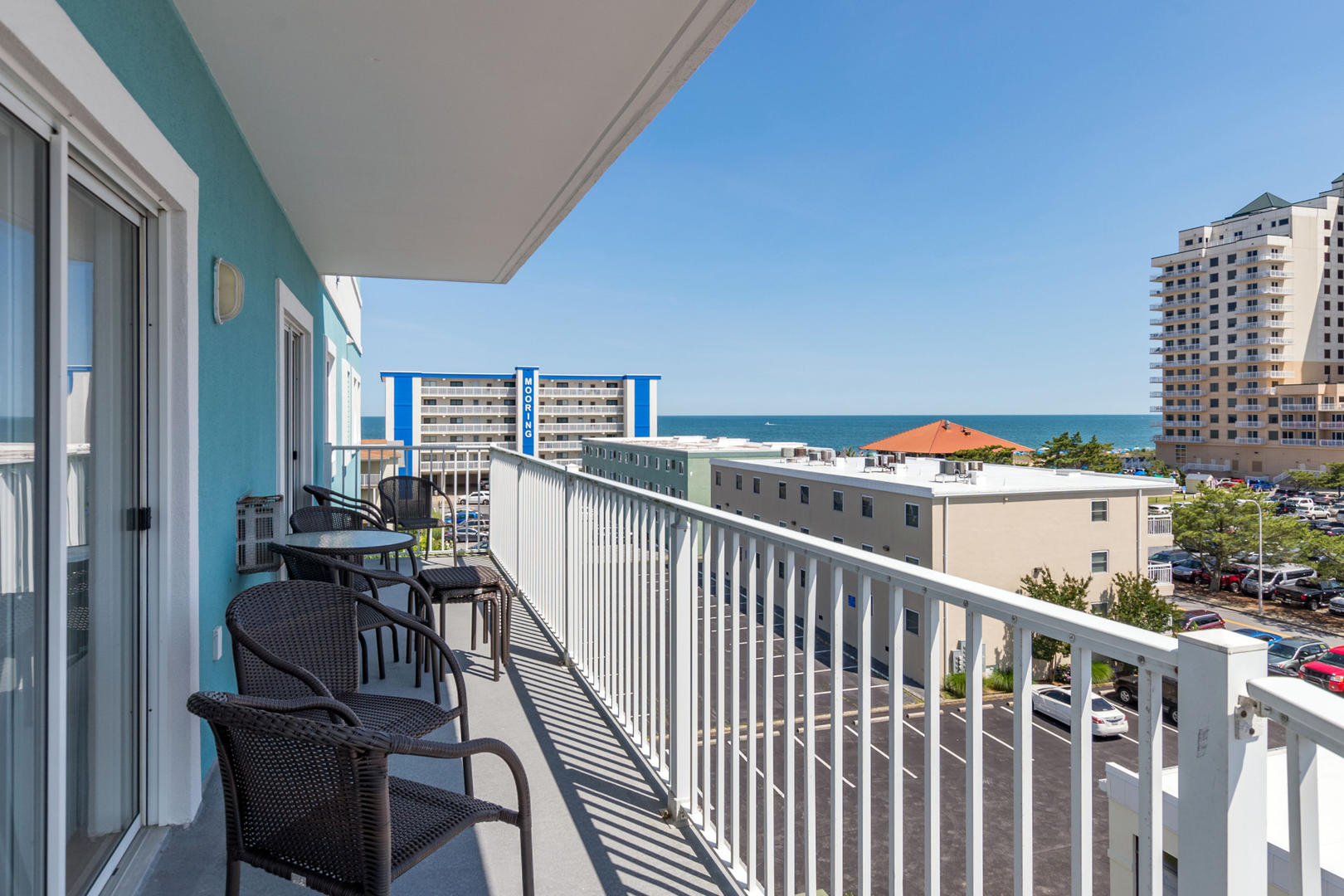 Ocean Bliss, 404 - Balcony and Partial Ocean View