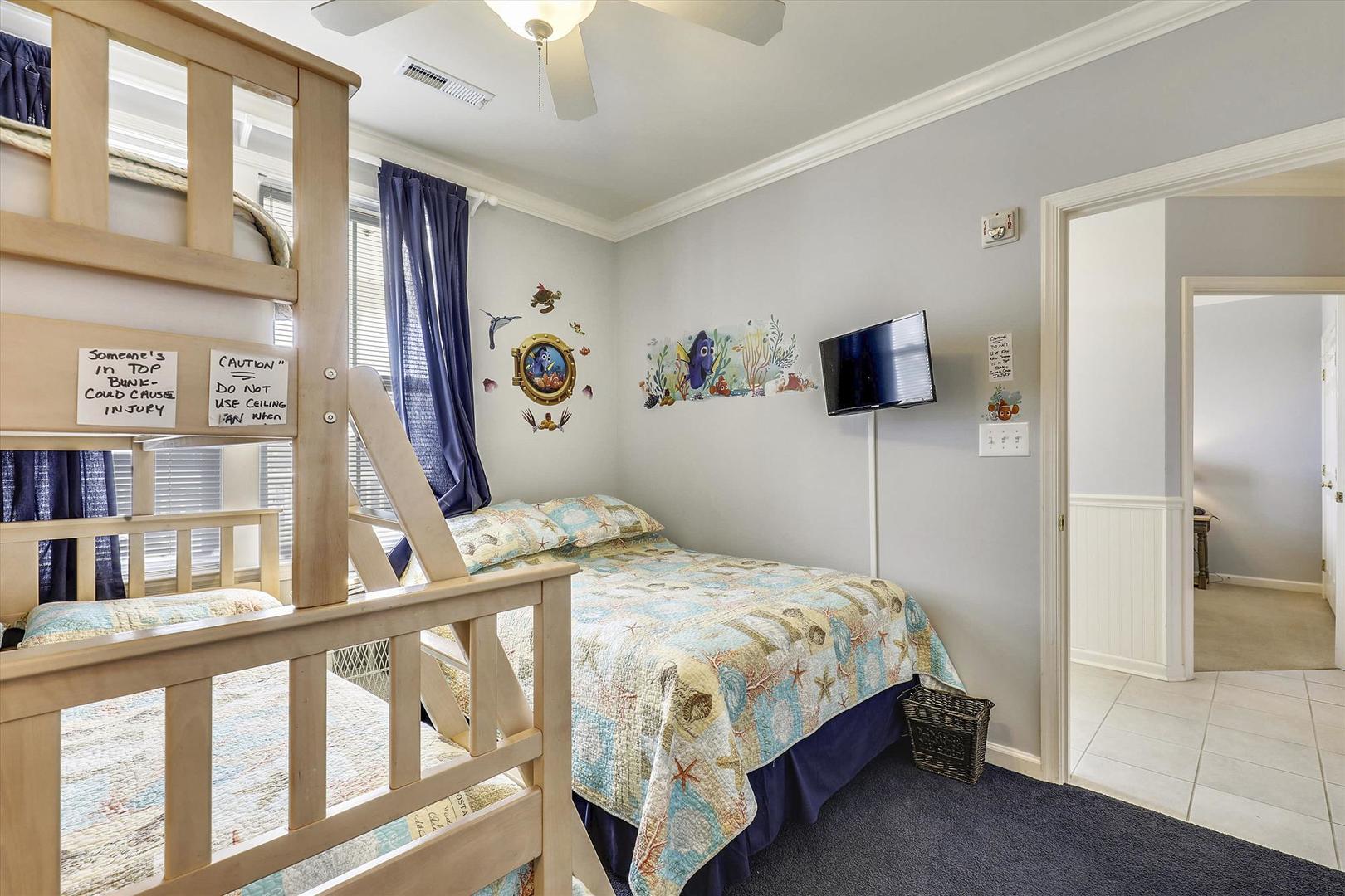 Sunset Island, 6 Hidden Cove Way, 3D - Third Bedroom