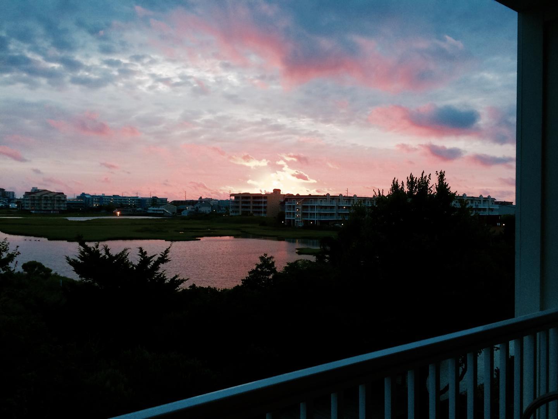 Sunset Island, 6 Hidden Cove Way, 3D - Sunset from Patio