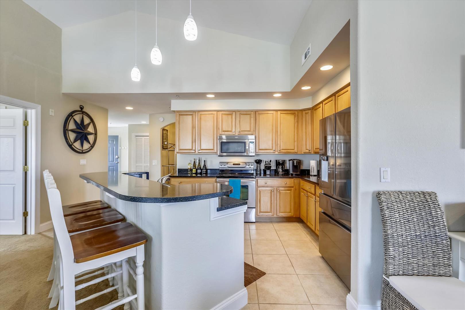 4100 Oceanside Condos 405 - Kitchen